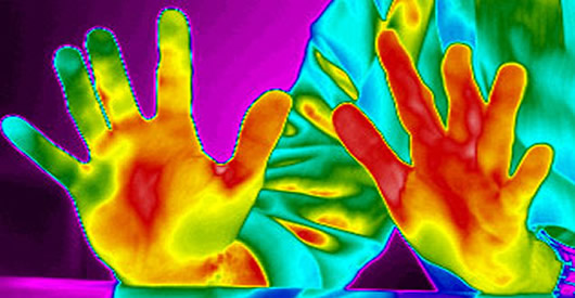 clinical testing with thermal imaging