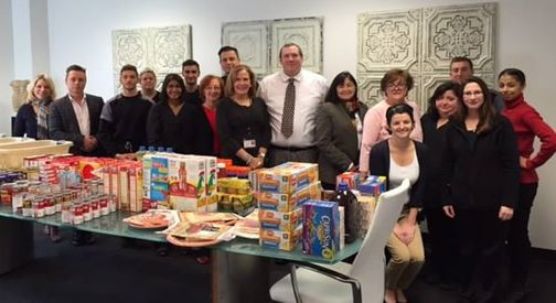 Princeton Consumer Research Supports Homefront Food Drive
