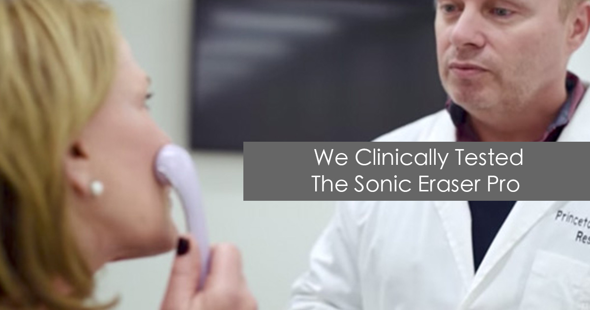 Sonic Eraser Pro by Michael Todd Beauty - Clinically Validated