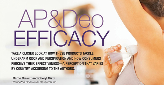 AP & Deo Efficacy Article In Happi Magazine