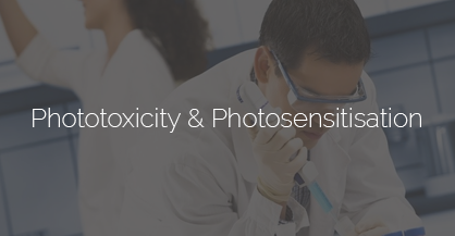 Phototoxicity & Photosensitisation testing