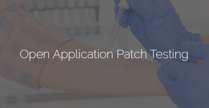 open applicayion patch testing tile