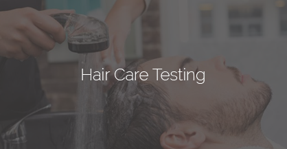shampoo and hair care product testing
