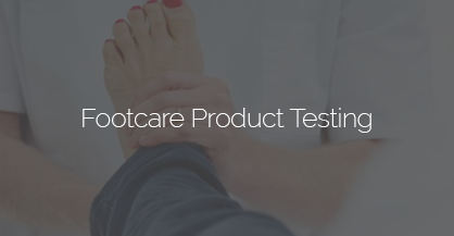 Foot Care Product Testing