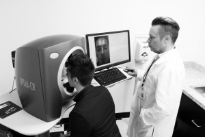 Clinical Testing With Our Visia Machine